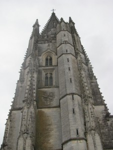 The Gothic Tower at Saint Eutrope